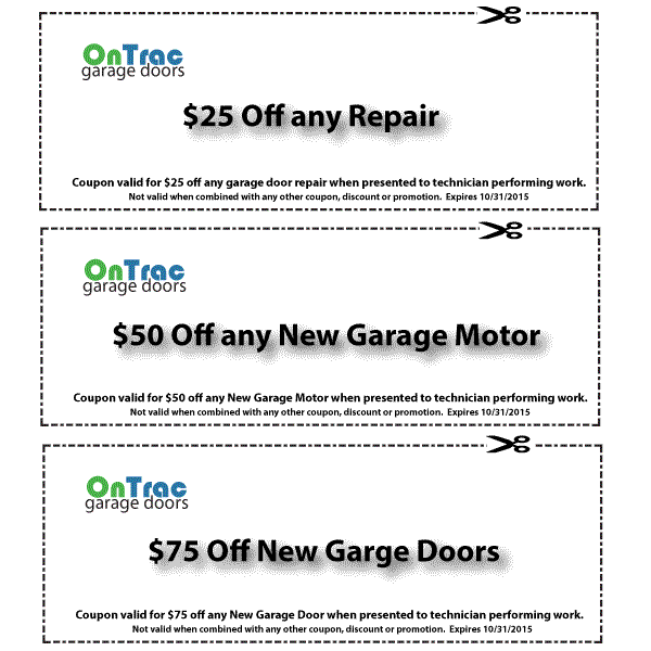 High Point Garage Door Service Discount Coupons